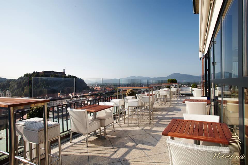 La terrazza del Neboticnik - Foto sito ufficiale