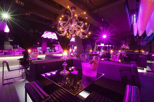 La sala Vip del Top Six Club Lubiana