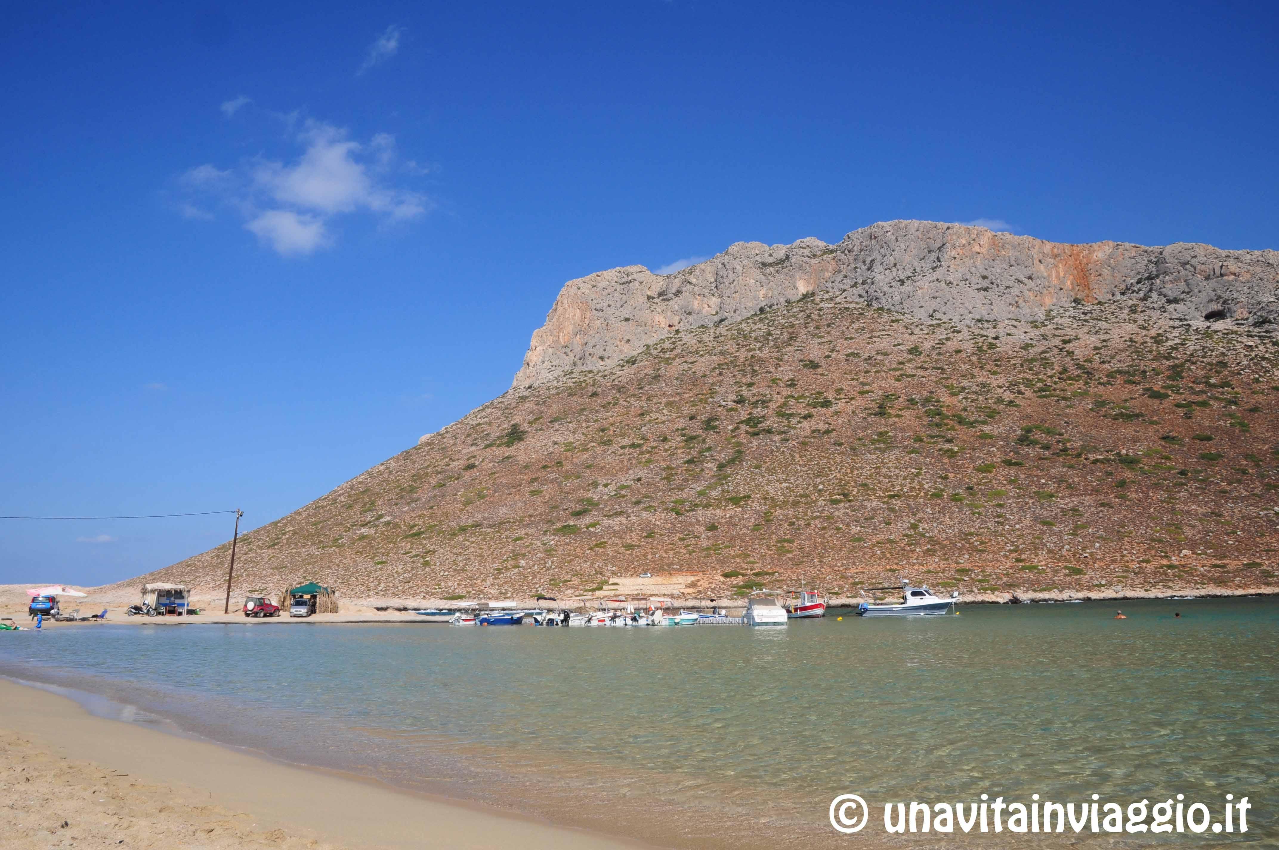 Le spiagge di Creta: Stavros