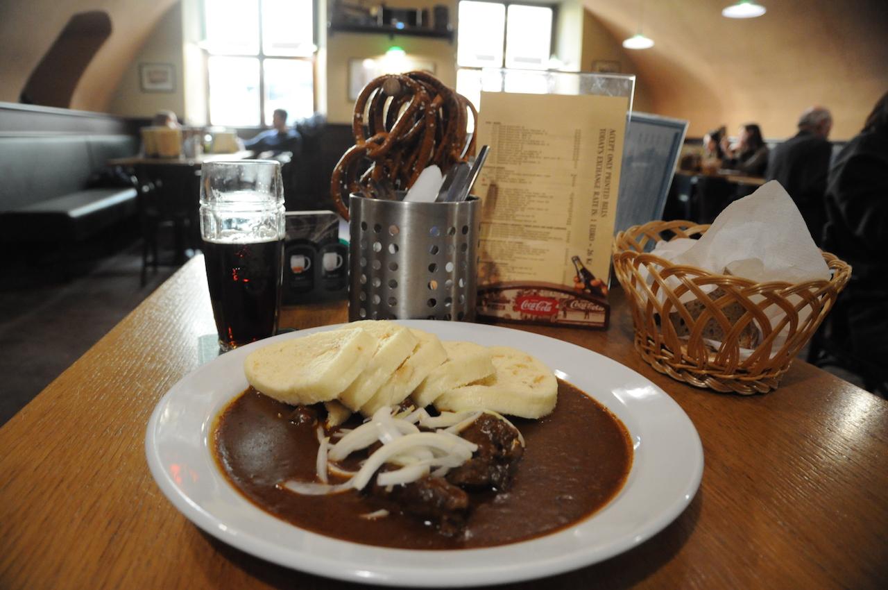 Dove mangiare tipico a Praga