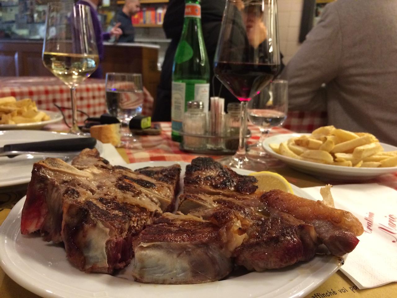 Dove mangiare la bistecca alla fiorentina a Firenze