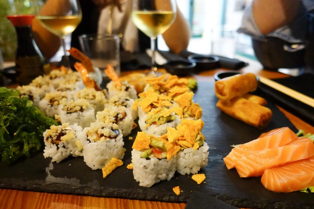 Fushion Sushi a Lignano Pineta